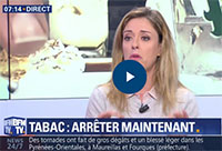 BFM TV > Interview de Cécile Argy : Arret du Tabac